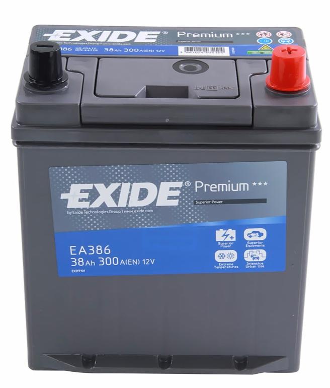 EXIDE PREMIUM 38 ა/ს EA386
