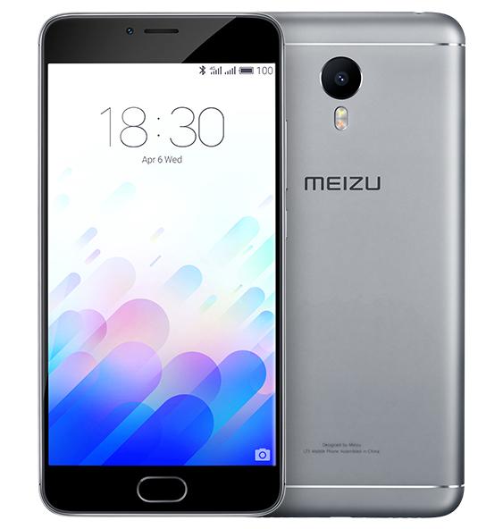 MEIZU M3 NOTE 16GB DUAL SIM LTE GREY BLACK