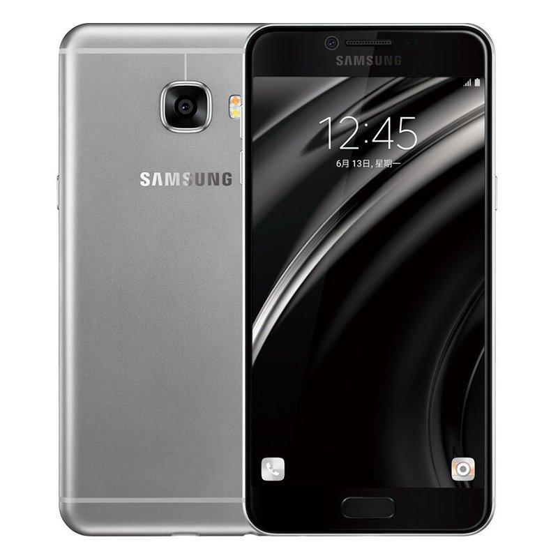 SAMSUNG C7000 GALAXY C7 64GB DUAL SIM LTE GREY