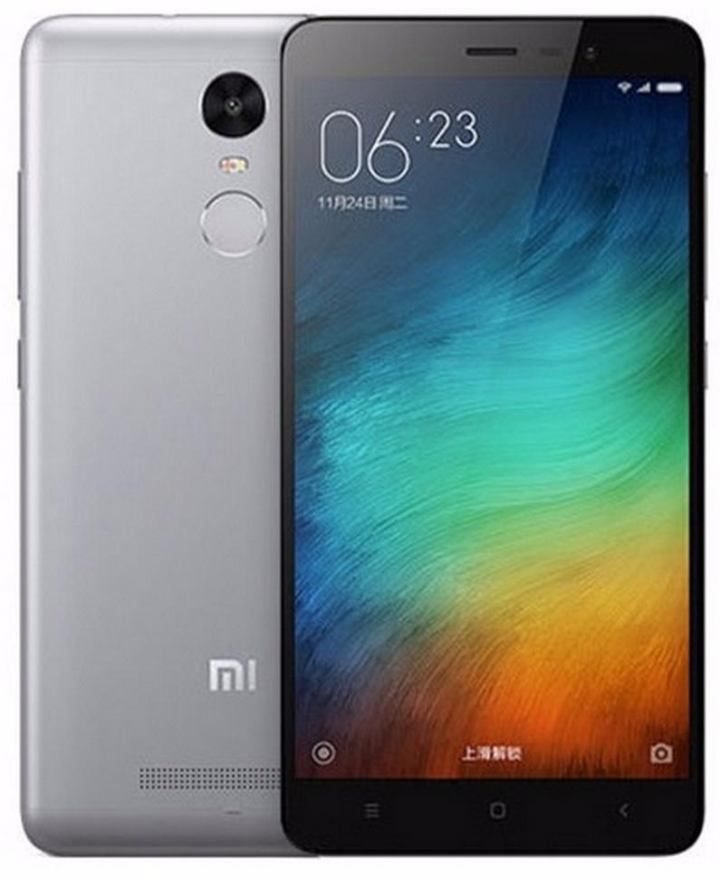 XIAOMI REDMI NOTE 3 PRO 16 GB LTE BLACK GREY