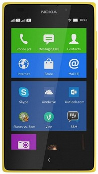 NOKIA XL 4GB YELLOW