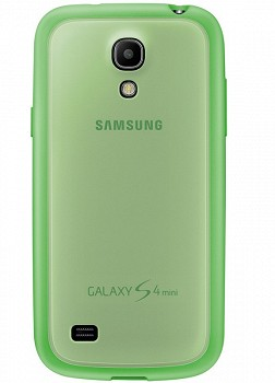 SAMSUNG GALAXY S4 MINI PROTECTIVE BACK COVER + GREEN