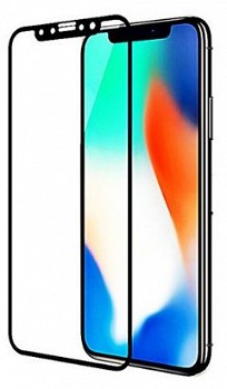 ეკრანის დამცავი GLASS PRO+ TEMPERED GLASS APPLE IPHONE XS MAX BLACK