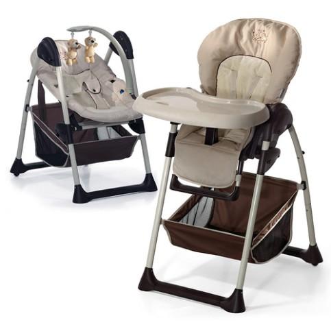 ბავშვის სკამ-მაგიდა + შეზლონგი HAUCK SIT'N RELAX ZOO (665107)