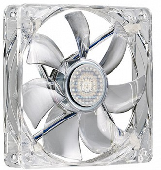 COOLER MASTER BLUE LED SILENT FAN 140MM (R4-L4S-10AB-GP)