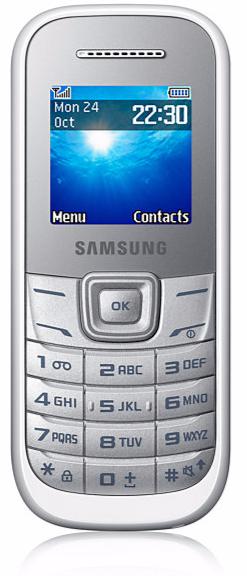 SAMSUNG E1205 WHITE