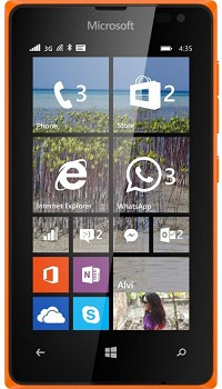 MICROSOFT LUMIA 435 DUAL 8GB ORANGE