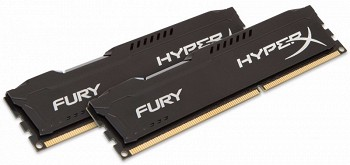 KINGSTON HYPERX FURY 8GB (2 x 4GB) DDR3 1866MHZ (HX318C10FBK2/8)