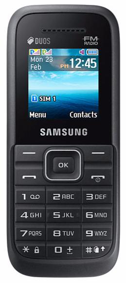 SAMSUNG B110 DUAL SIM BLACK