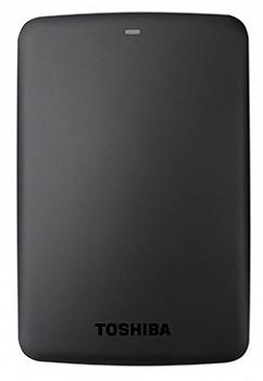 TOSHIBA CANVIO BASICS HDD USB 3.0 1 TB BLACK (HDTB310EK3AA)