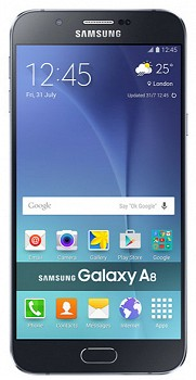SAMSUNG GALAXY A8 (A800FD) 32GB BLACK