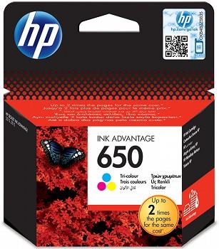 HP 650 TRI COLOR ADVANTAGE (CZ102AE) ლიკვიდაცია