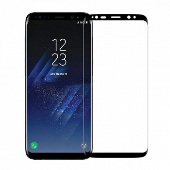 ეკრანის დამცავი GLASS PRO+ TEMPERED SCREEN FOR SAMSUNG GALAXY S8 PLUS (G955) BLACK