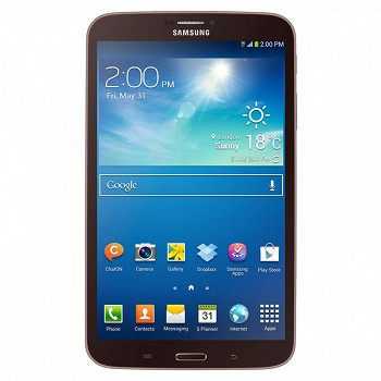 SAMSUNG GALAXY TAB 3 T3110 8.0 16GB 3G GOLD BROWN