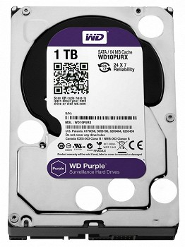 WD PURPLE 1TB 3.5