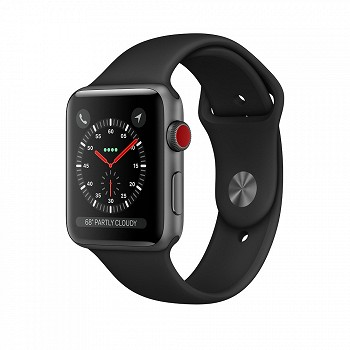 SMART WATCH APPLE WATCH SERIES 3 GPS 38MM (MQKV2) BLACK