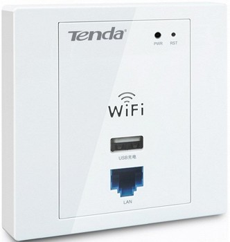 TENDA W310A (WIRELESS N300 WALL-MOUNT ACCESS POINT)