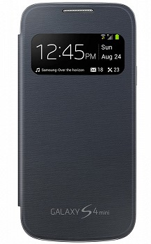 SAMSUNG GALAXY S4 MINI S VIEW COVER BLACK