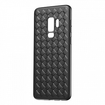 მობილურის ჩასადები BASEUS BV WEAVING CASE FOR SAMSUNG GALAXY S9 PLUS G965 (WISAS9P-BV01) BLACK
