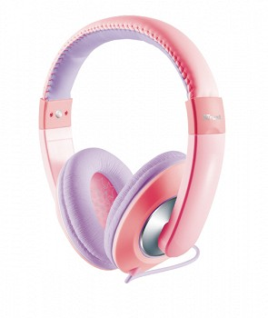 TRUST SONIN KIDS HEADPHONE PINK 19837