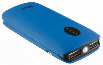 TRUST LEON POWERBANK 5200 PORTABLE CHARGER BLUE (20382)