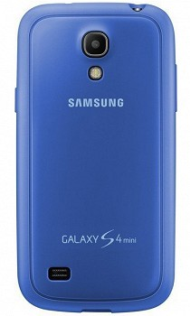 SAMSUNG GALAXY S4 MINI PROTECTIVE BACK COVER + LIGHT BLUE