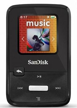 SANDISK SANSA CLIP ZIP 4GB BLACK