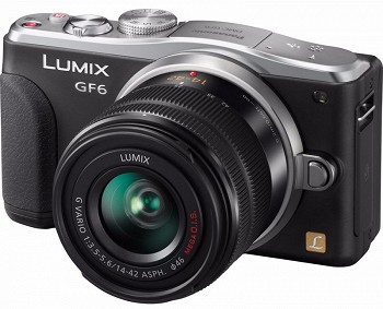 PANASONIC LUMIX DMC-GF6X BLACK