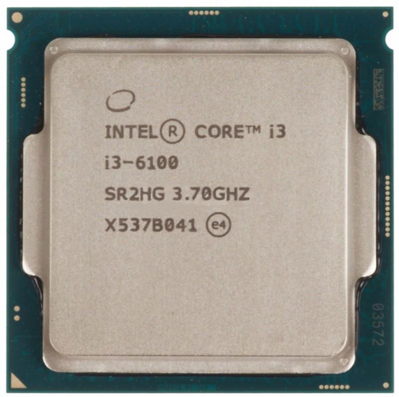 INTEL CORE I3 6100 (3 MB ქეშ მეხსიერება, 3.7 GHZ) TRAY