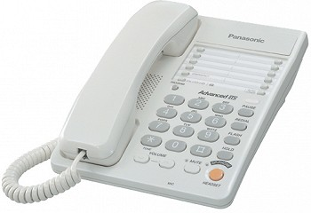 სტაციონარული ტელეფონი PANASONIC KX-TS2363UAW