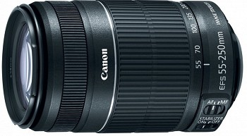 CANON EF-S 55-250mm f/4-5.6 IS STM BLACK