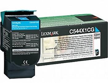 LEXMARK C544, X544 C544X1CG CYAN