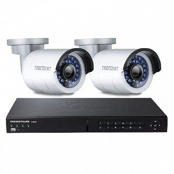 2 X IP CAMERA (TV-IP310PI) & (GVR3550)