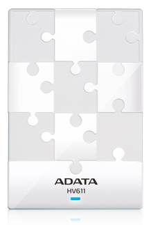 A-DATA HV611 1TB WHITE