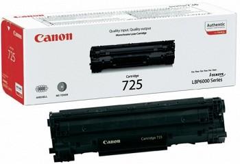 CANON 725 BK BLACK ORIGINAL TONER  (3484B002)