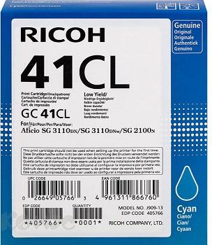 RICOH GC 41CL 405766 CYAN