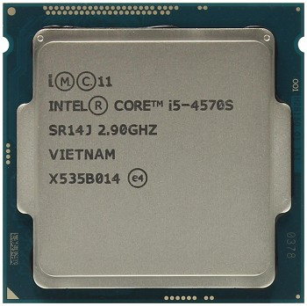 INTEL CORE I5 4570S (6 MB ქეშ მეხსიერება, 2.9 GHZ) TRAY