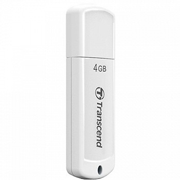 TRANSCEND JETFLASH 370 4GB WHITE