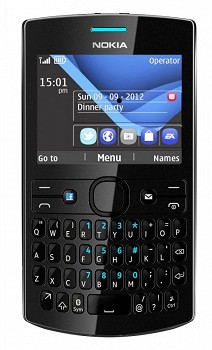NOKIA ASHA 205 FULL BLACK
