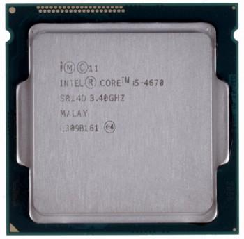 INTEL CORE I5 4670  (6 MB ქეშ მეხსიერება, 3.4 GHZ) TRAY