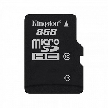 KINGSTON MICROSDHC 8 GB CLASS 10 + SD ADAPTER