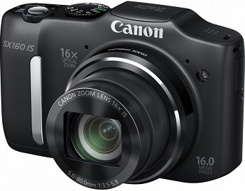 CANON POWERSHOT SX160 IS BLACK