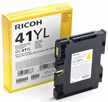 RICOH GC YL 405768 YELLOW