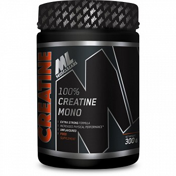 MUSCLELABS 100% CREATINE MONO 300G JAR SLEEVE