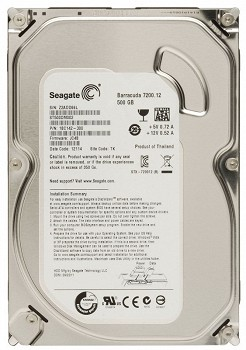 SEAGATE BARRACUDA 500GB 7200ბრ/წთ 3.5