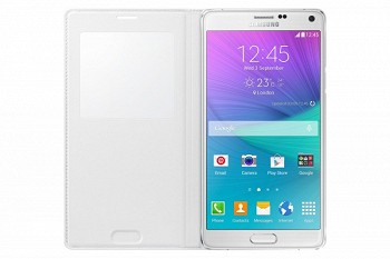 SAMSUNG GALAXY NOTE 4 S VIEW COVER WHITE (EF-CN910BWEGRU)