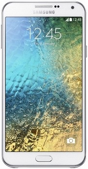 SAMSUNG GALAXY E7 (SM-E700F/DS) 16GB WHITE
