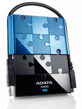 A-DATA HV610 1TB BLACK/BLUE