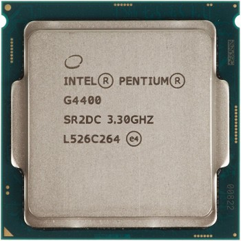 INTEL PENTIUM G4400  (3 MB ქეშ მეხსიერება, 3.3 GHZ) BOX