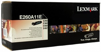 LEXMARK  E260A11E RETURN PROGRAM TONER